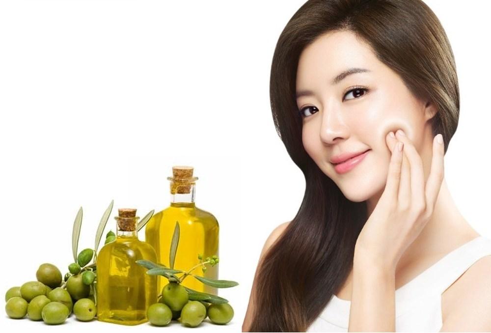 tác dụng của dầu oliu với tóc