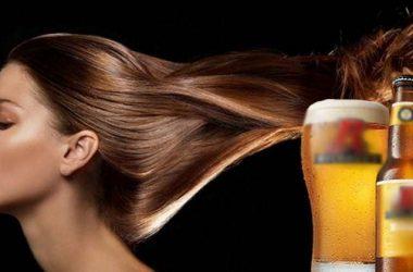 ủ tóc bằng bia đúng cách