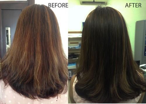 Sau khi thực hiện liệu trình ủ tóc, mái tóc của bạn sẽ có sự thay đổi đáng kinh ngạc