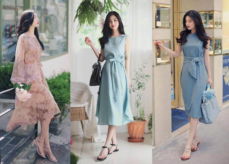 Váy thắt eo thiết kế tinh tế